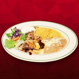 #B Mole Poblano Enchilada - Chicken