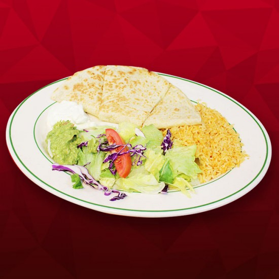 #E Quesadilla (flour) - Chicken, Asada or Veggies