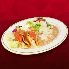 #F Two Crispy Tacos