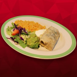 #X Supreme Burrito - Carne Asada
